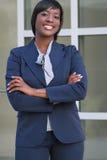 kvinna för affärscorproateheadshot Arkivbilder