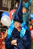 kvinna för ca-barnuppklädd Arkivbilder