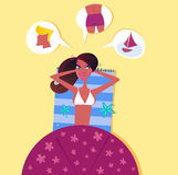 kvinna för man för strand drömma perfekt Arkivbilder