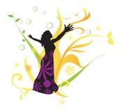 Kvinna hälsa, illustration Royaltyfria Bilder