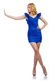 Kvinna i modekläder Royaltyfri Foto