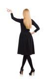 Kvinna i modekläder Arkivbilder