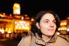 Kvinna i Novi Sad Royaltyfria Bilder
