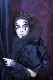 Kvinna i svart Royaltyfri Fotografi