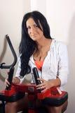 Kvinna i vård- klubba Arkivfoto
