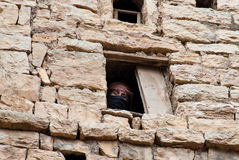 Kvinna i Yemen arkivbild