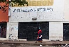 Kvinna i Zimbabwe Arkivbilder