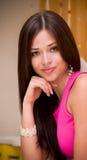 kvinna med bijouterie Royaltyfria Bilder