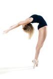 Kvinna som utför en dans Arkivfoto