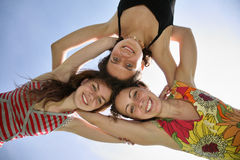 kvinna tre Royaltyfri Foto