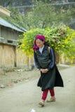 Kvinnaarbete för etnisk minoritet Arkivbilder