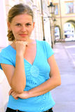 kvinnabarn Royaltyfri Fotografi