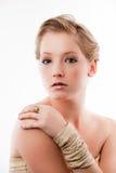 kvinnabarn Fotografering för Bildbyråer