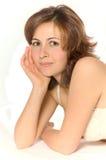 kvinnabarn Royaltyfri Foto