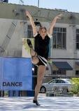 Kvinnadans i Saint Louis för nationell dansvecka Arkivbild