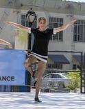 Kvinnadans i Saint Louis för nationell dansvecka Royaltyfri Bild
