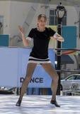 Kvinnadans i Saint Louis för nationell dansvecka Arkivbilder