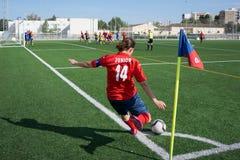 Kvinnafotboll royaltyfri foto