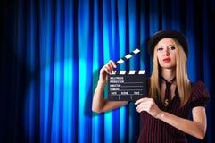 Kvinnagangster Fotografering för Bildbyråer