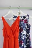 Kvinnaklänningar Royaltyfria Foton