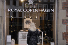 KVINNAKONSUMENTER Royaltyfri Bild