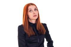 Kvinnan rullar henne synar Fotografering för Bildbyråer