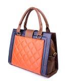 Kvinnas handväska Arkivfoto