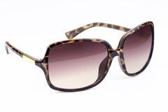 Kvinnas solglasögon Arkivbild