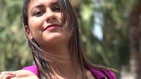 Kvinnashopping, konsument stock video
