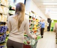 Supermarket Fotografering för Bildbyråer