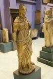 Kvinnastaty av den Greco- romaren på det egyptiska museet Royaltyfria Foton