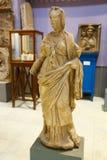 Kvinnastaty av Greco-romaren på det egyptiska museet Royaltyfri Foto