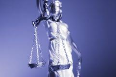 Kvinnastatysymbol av rättvisa Themis Fotografering för Bildbyråer