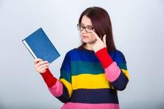 Kvinnastudent royaltyfri fotografi
