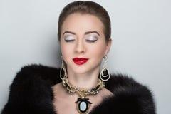Kvinnavip-person Royaltyfri Bild