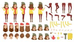 kvinnlig stock illustrationer