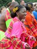 Kvinnlig aktör från Martinique Arkivfoto