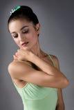 Kvinnlig balettdansör Arkivbilder
