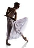Kvinnlig balettdansör Royaltyfri Foto