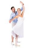 Kvinnlig balettdansör Arkivfoto