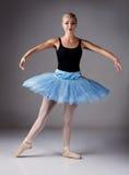 Kvinnlig balettdansör Fotografering för Bildbyråer