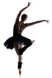 Kvinnlig balettdansör royaltyfri fotografi