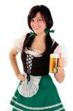 kvinnlig bartender Royaltyfri Foto