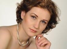 Kvinnlig bild Arkivbild