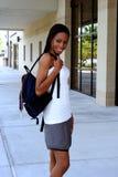 kvinnlig deltagare royaltyfri foto