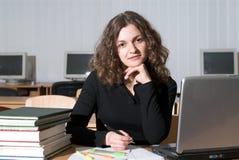 kvinnlig deltagare Fotografering för Bildbyråer