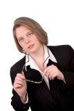 kvinnlig för affärsledare Arkivbild