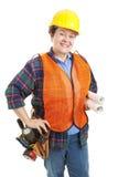 kvinnlig för konstruktionsleverantör Royaltyfria Foton