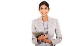 Kvinnlig företags arbetare Arkivbilder