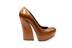 Kvinnlig footwear-54 Arkivfoto